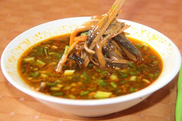 Lươn om chuối đậu Nghệ An