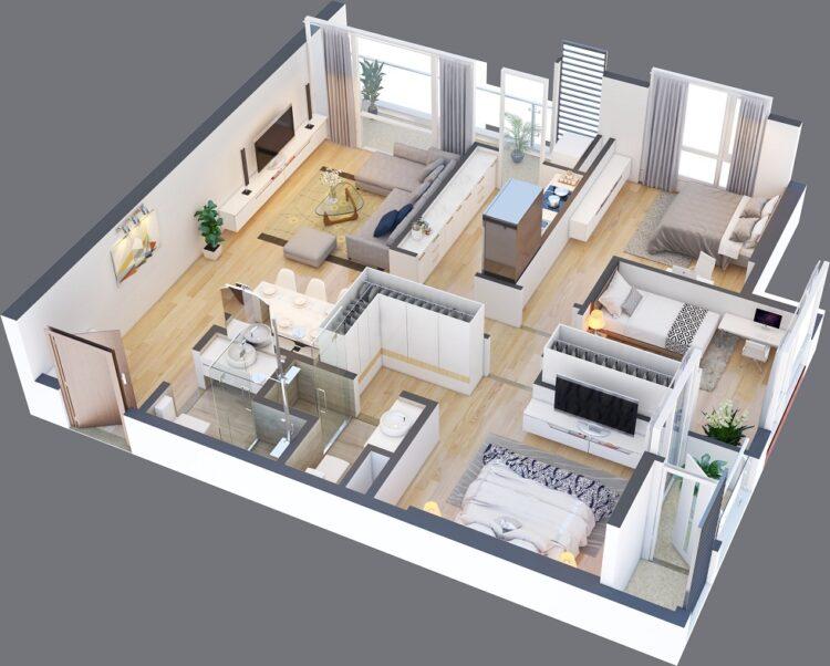 Thiết kế căn hộ thông minh